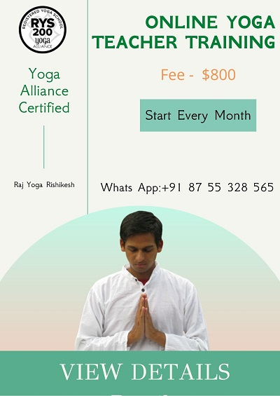 Best Online Workout Programs 2021 Yoga Teacher Training Rishikesh 2021,2022   Raj Yoga Rishikesh